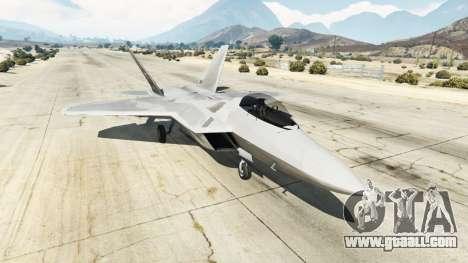 GTA 5 Lockheed Martin F-22 Raptor