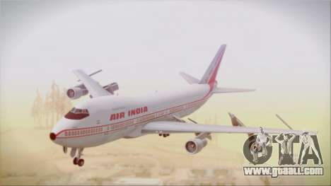 Boeing 747-237Bs Air India Akbar for GTA San Andreas