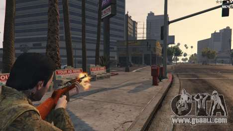 GTA 5 .30 Cal M1 Carbine Rifle third screenshot