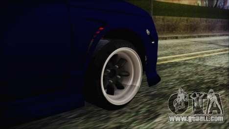 VAZ 2110 Sport for GTA San Andreas back left view