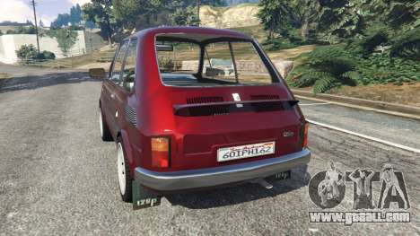 GTA 5 Fiat 126p v1.2 rear left side view