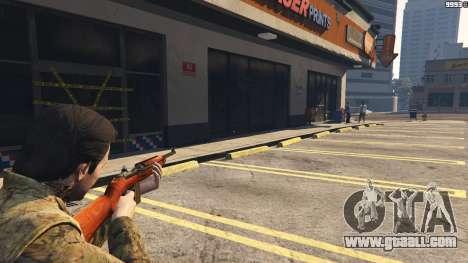 .30 Cal M1 Carbine Rifle for GTA 5