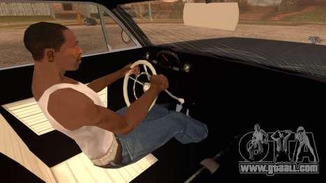 GTA 5 Declasse Clean Voodoo Hydra Version IVF for GTA San Andreas back left view