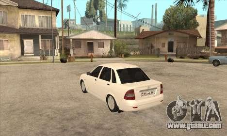 Lada Priora Armenian for GTA San Andreas