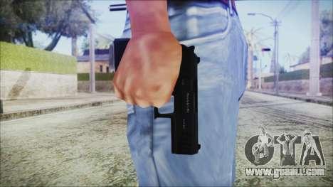 GTA 5 Combat Pistol v2 - Misterix 4 Weapons for GTA San Andreas third screenshot