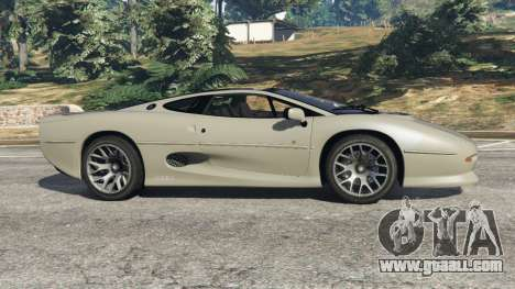 GTA 5 Jaguar XJ220 v1.2 left side view