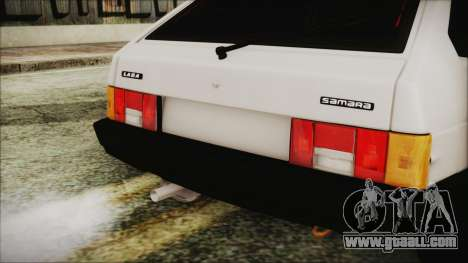 VAZ 2109 for GTA San Andreas back view