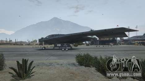 GTA 5 B-2A Spirit Stealth Bomber third screenshot