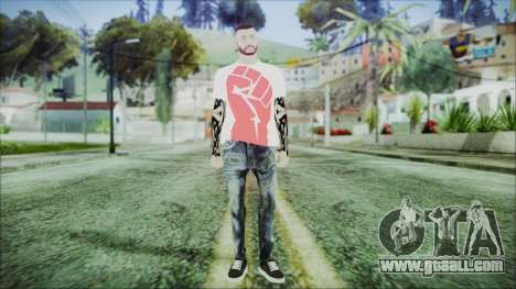 GTA Online Skin 17 for GTA San Andreas second screenshot