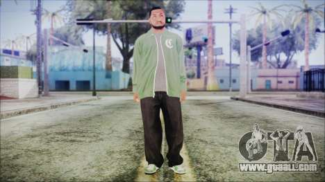 GTA 5 Grove Gang Member 1 for GTA San Andreas second screenshot
