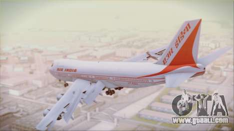 Boeing 747-237Bs Air India Akbar for GTA San Andreas left view