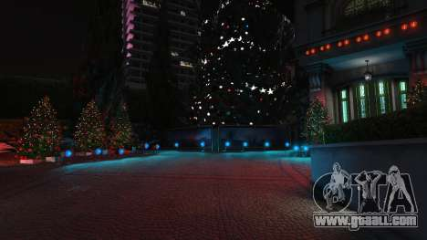 GTA 5  Christmas decorations for Michael's house third screenshot