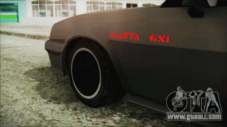 Opel Manta GSi Exclusive for GTA San Andreas back left view