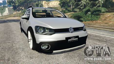 Volkswagen Saveiro G6 Cross for GTA 5