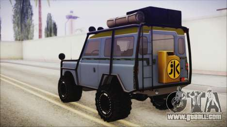Land Rover Series 3 Off-Road for GTA San Andreas left view