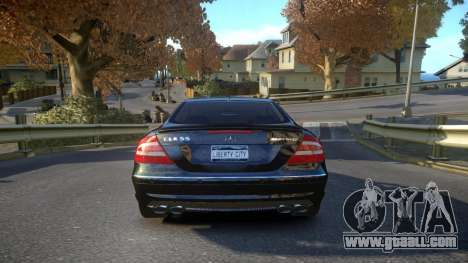 Mercedes CLK55 AMG Coupe 2003 for GTA 4 right view