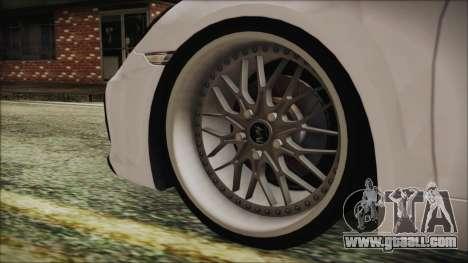 Porsche Boxster GTS 2016 for GTA San Andreas back left view