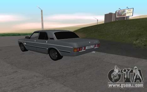 GAZ 31029 Volga for GTA San Andreas right view