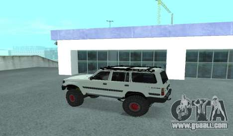 Toyota Autana 4500 off-road LED for GTA San Andreas left view