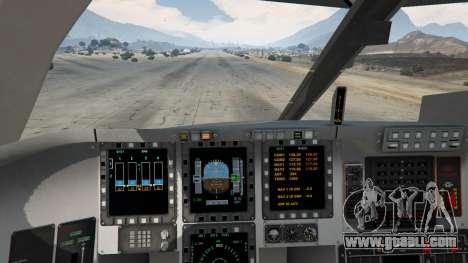 GTA 5 B-2A Spirit Stealth Bomber fifth screenshot
