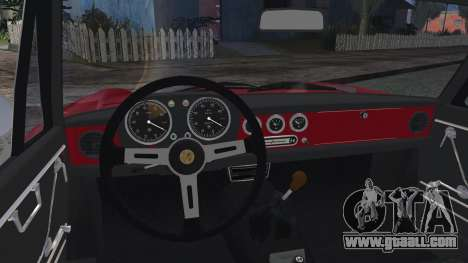 Alfa Romeo Spider Duetto 1966 for GTA San Andreas back left view