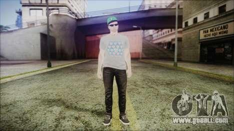 GTA Online Skin 45 for GTA San Andreas second screenshot