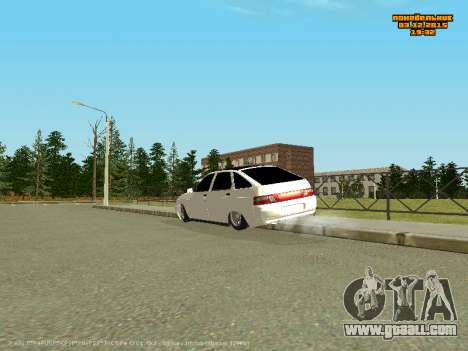 VAZ 2112 Bunker 0.2 v for GTA San Andreas left view