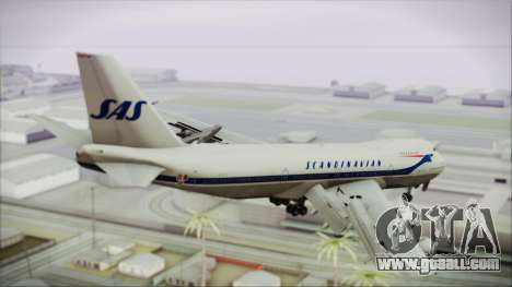 Boeing 747-283BM Scandinavian Airlines for GTA San Andreas left view