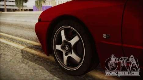 Nissan Skyline R32 for GTA San Andreas back left view