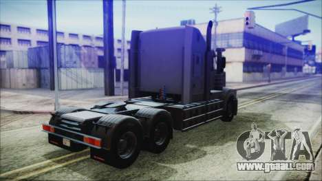 Kenworth T908 v1.0 for GTA San Andreas left view