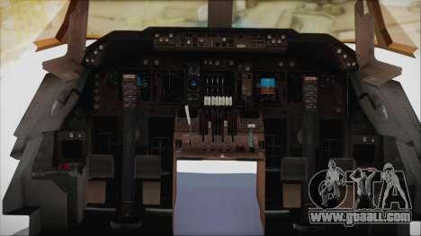 Boeing 747-128B Air France for GTA San Andreas inner view