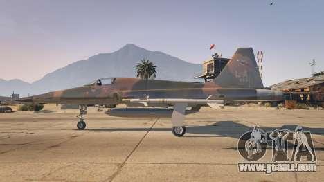 GTA 5 Northrop F-5E Tiger II USA second screenshot