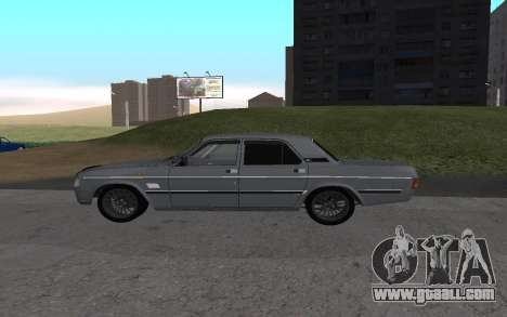 GAZ 31029 Volga for GTA San Andreas back left view