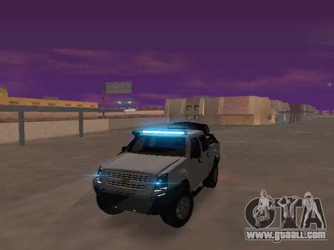 Chevrolet LUV D-MAX 2014 OffRoad (IVF) for GTA San Andreas