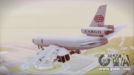McDonnell-Douglas DC-10-30F World Airways for GTA San Andreas left view