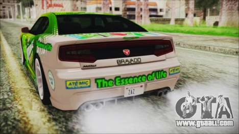 GTA 5 Bravado Buffalo Sprunk for GTA San Andreas side view