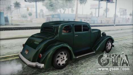 Hustler Beta for GTA San Andreas left view