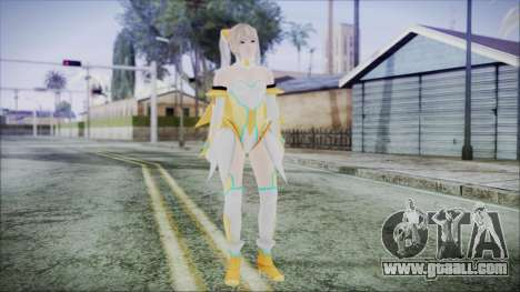 DoA5 LR Marie Rose Schoolgirl Striker Blonde for GTA San Andreas second screenshot