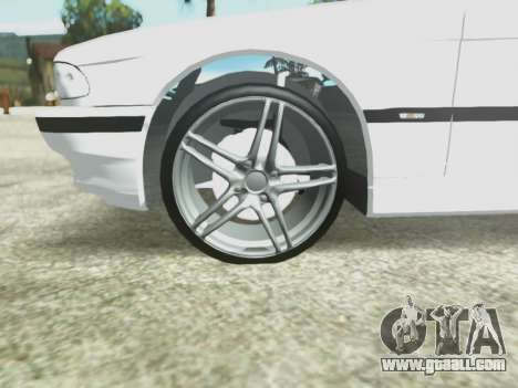 BMW 750i for GTA San Andreas side view