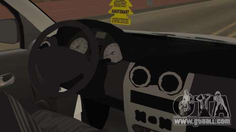 Dacia Logan for GTA San Andreas right view