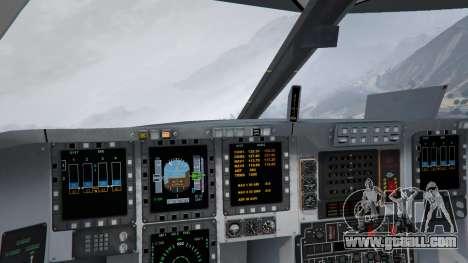 GTA 5 B-2A Spirit Stealth Bomber tenth screenshot