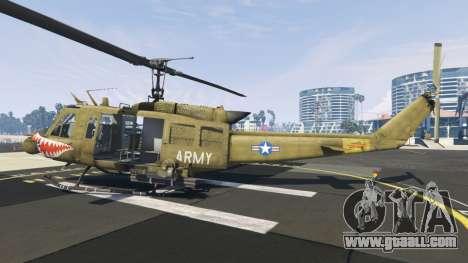 GTA 5 Bell UH-1D Iroquois Huey Gunship second screenshot