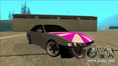 Nissan Silvia S14 Drift for GTA San Andreas right view