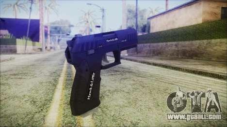 GTA 5 Combat Pistol v2 - Misterix 4 Weapons for GTA San Andreas second screenshot