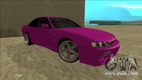 Nissan Silvia S14 Drift for GTA San Andreas inner view