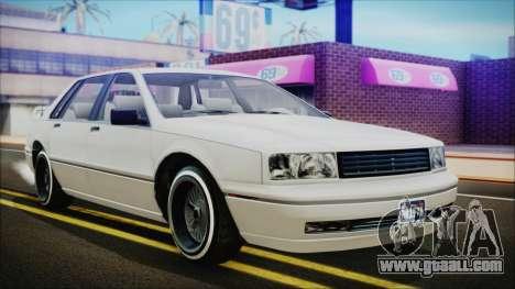 GTA 5 Albany Primo Custom for GTA San Andreas