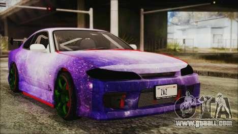 Nissan Silvia S15 Galaxy Drift v1.1 for GTA San Andreas