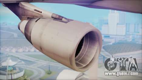 McDonnell-Douglas MD-11 Japan Airlines for GTA San Andreas right view