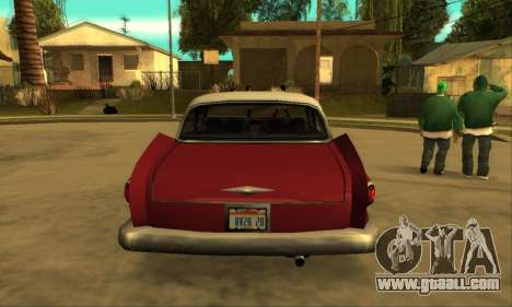 Oceanic Glendale 1961 for GTA San Andreas right view