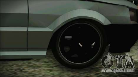 Fiat Uno Fire Tuning for GTA San Andreas back left view